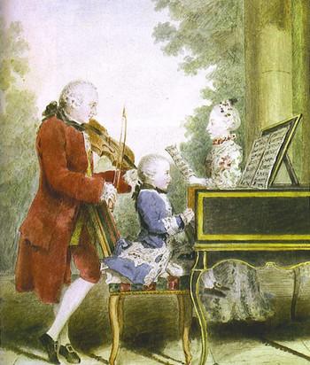 四大音樂時期—古典時期(西元 1750~1820年)