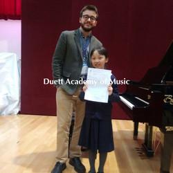 廖析慈-學校音樂節二級組第二名
