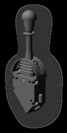 Pump control lever