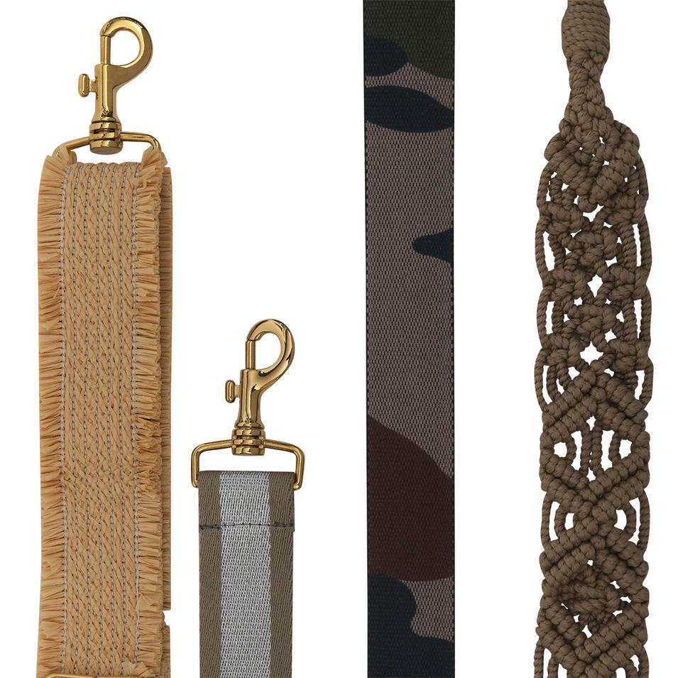 Raphia - Argent & Beige - Camouflage - Macramé