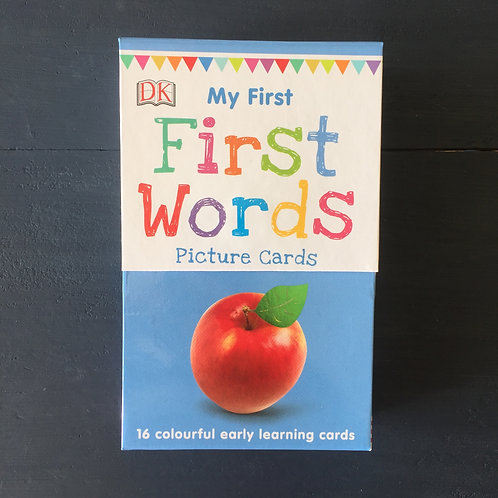 My First Words (16 early learning cards)