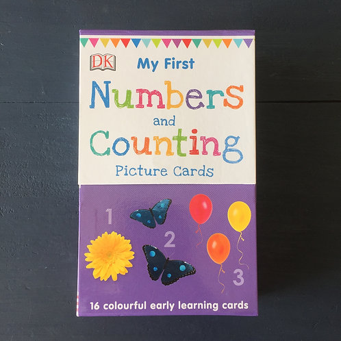 My First Numbers and Counting (16 early learning cards)