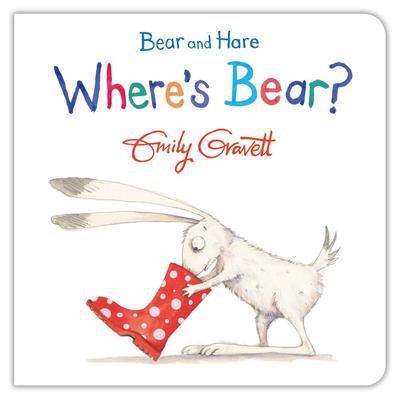 Bear and Hare: Where's Bear?  (board bk)