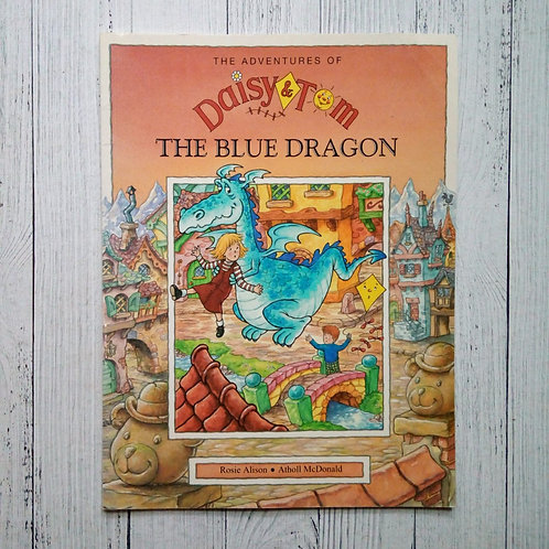 The Blue Dragon - The Adventures of Daisy and Tom (Used )
