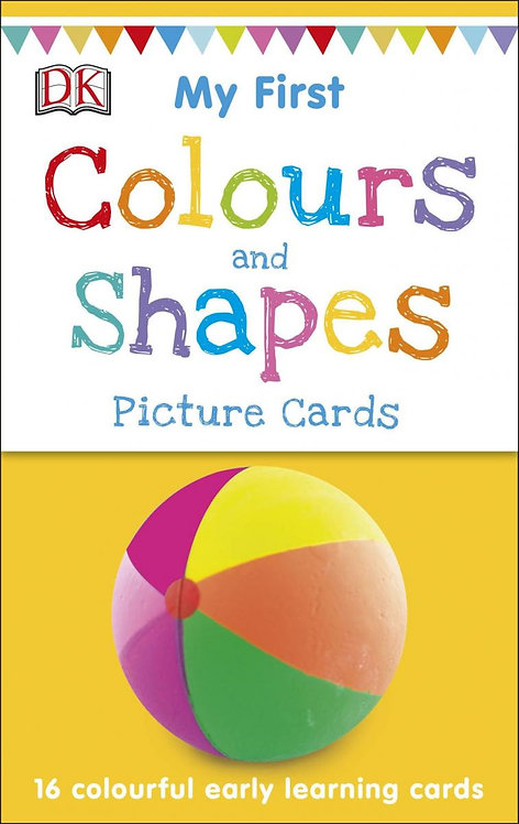 My First Colours & Shapes (16 early learning cards)
