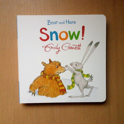Bear and Hare. Snow!