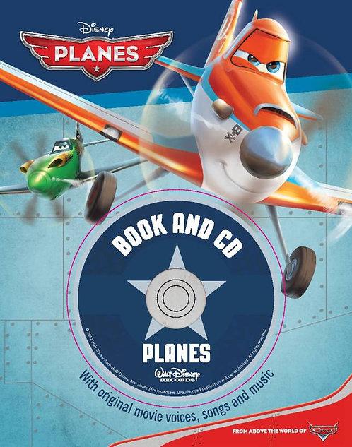 Disney Planes Book + CD