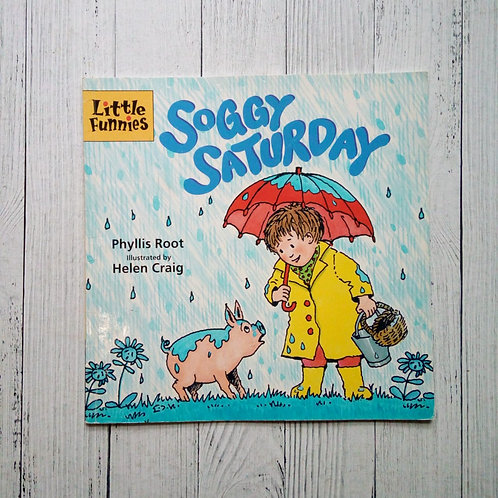 Soggy Saturday (Little Funnies) (Used )