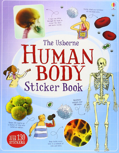 Human Body (sticker book)
