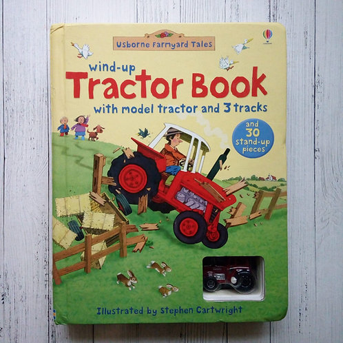 Farmyard Tales Wind-up Tractor Book (Wind-up Books) (Used )