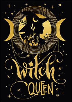Блокнот Королева ведьм. Witch queen