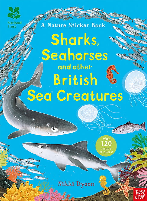 Sharks, Seahorses and other British Sea Creatures (sticker book)
