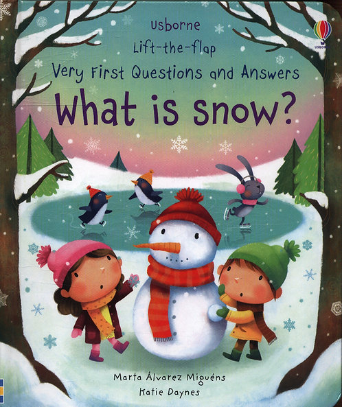 Very First Questions & Answers: What is Snow? (Lift-the-Flap) (New )