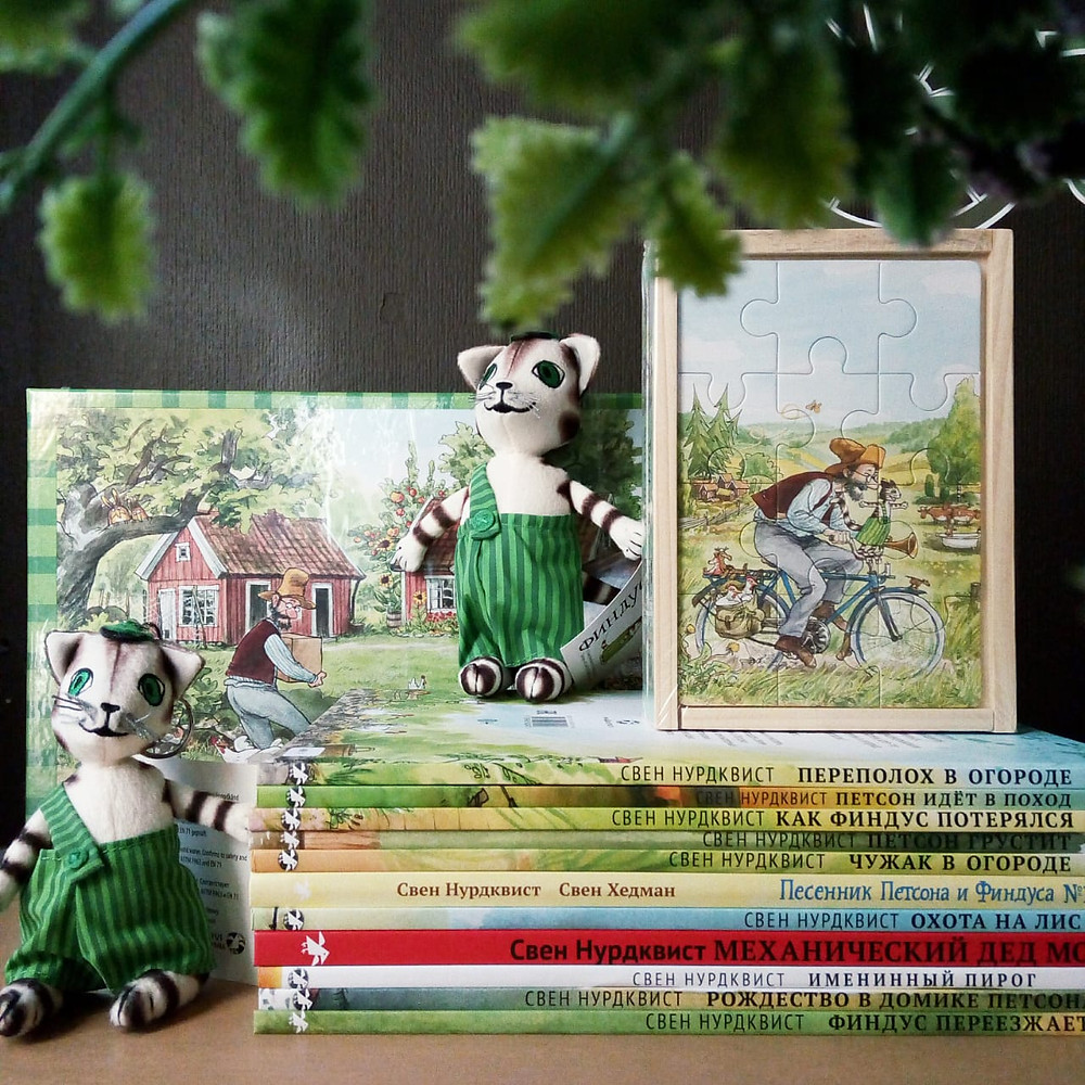 ПЕТСОН И ФИНДУС Книжный магазин Маленькая Мечта