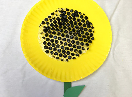 Sunflower Craft for Dementia Patients