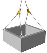 Acessórios de Movimentação, Ferramentas de Movimentação, Balancim Equalizador, Balancim