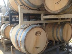 Barrels Aging California Gold
