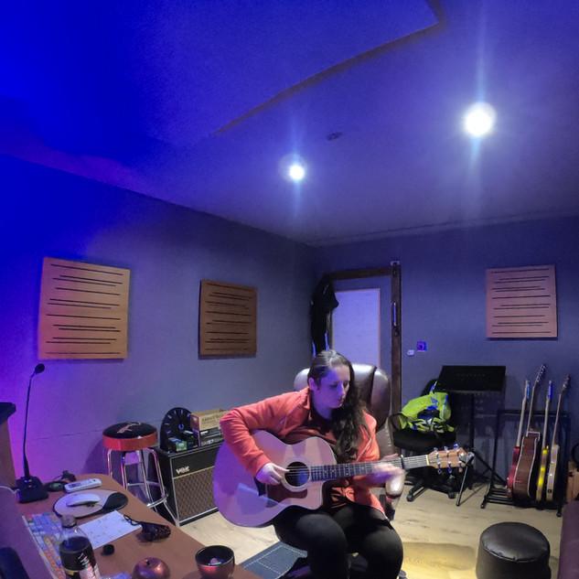View of whole studio