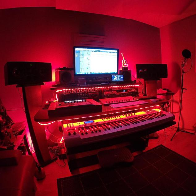Red mood lighting