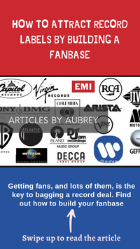 How to attract record labels by building a fanbase