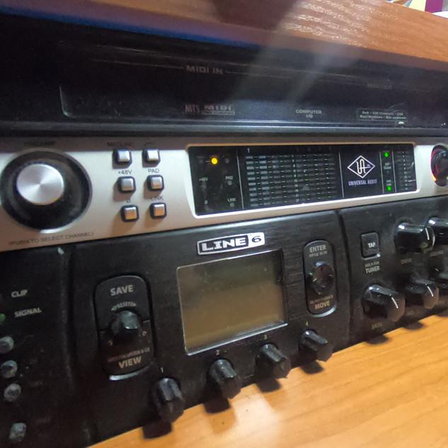 U Audio Apollo Quad Pre-amp