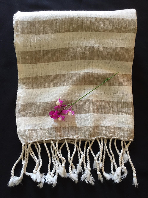 Hand loomed scarf