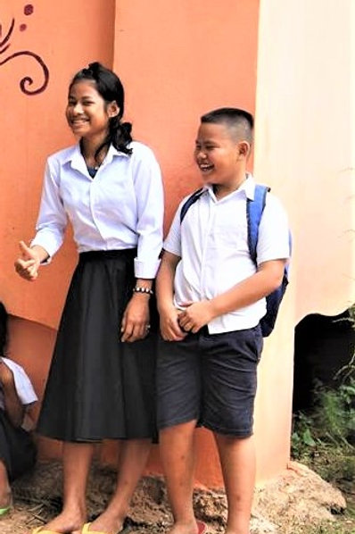 Donate a school uniform