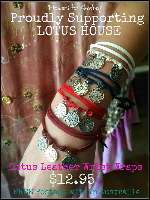 Leather wrist/anklet wrap