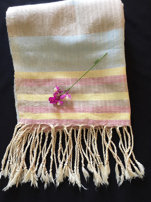Hand loomed scarf