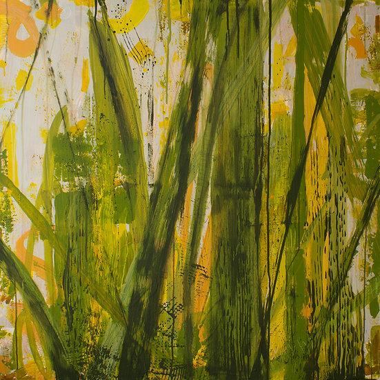 Grass / 100x100cm