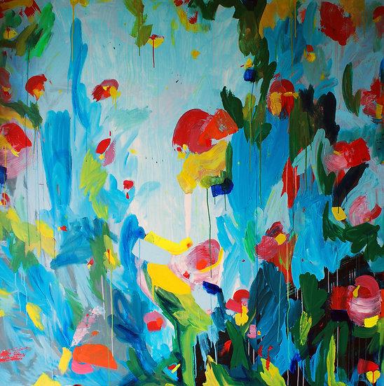 Wildflowers 09032021 / 200x200cm