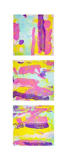 Jazz Obsession #3 / triptych 3x30x30cm