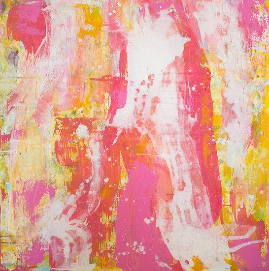 Jazz Obsession June / 100x100cm