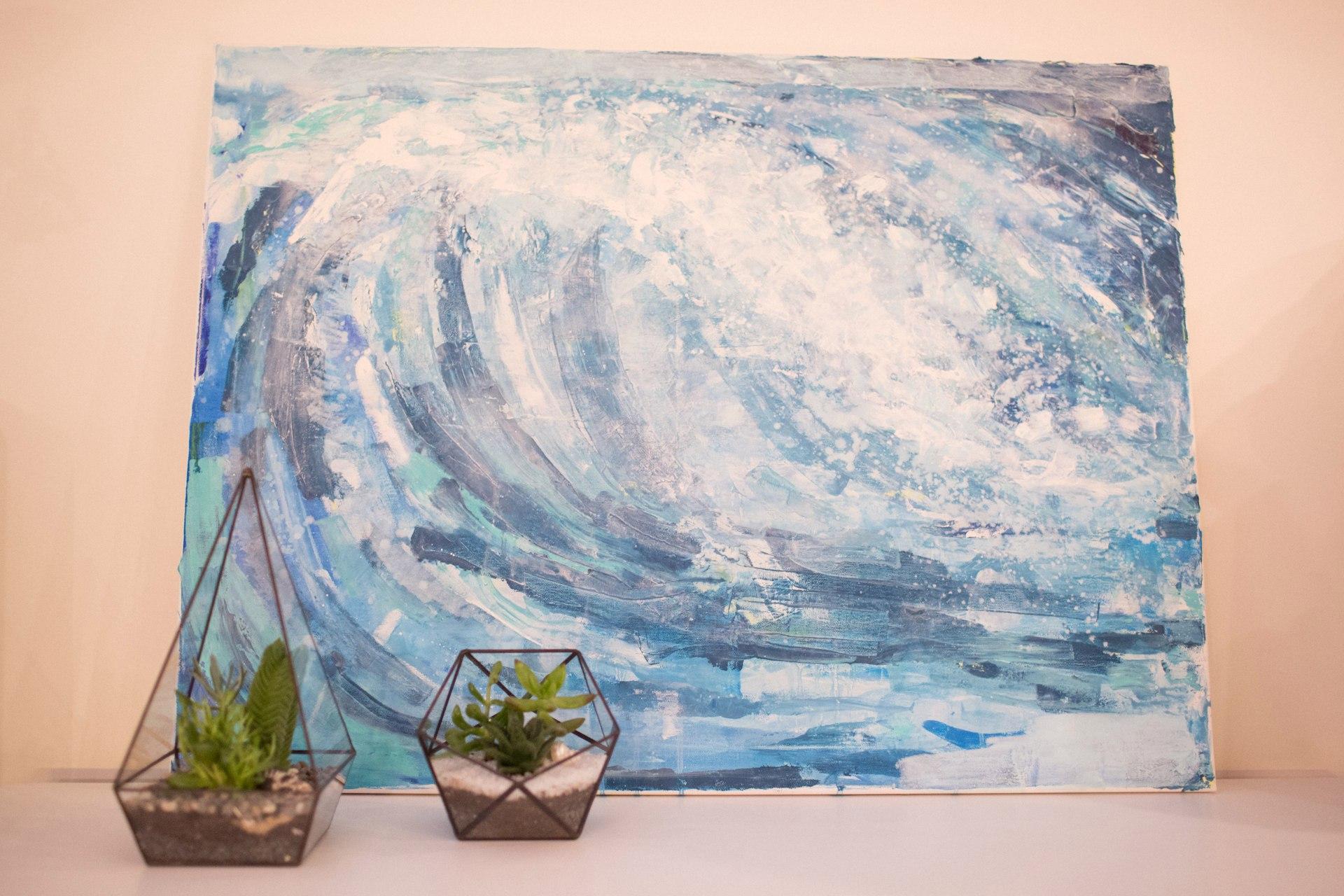 Surf #2 40x60cm