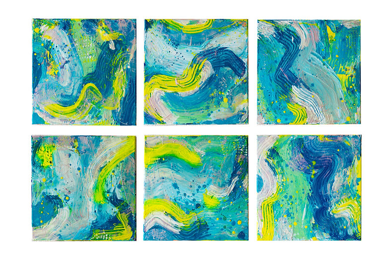 Waves (polyptych) / SOLD