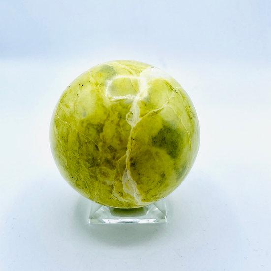 Serpentine pistache   sphère