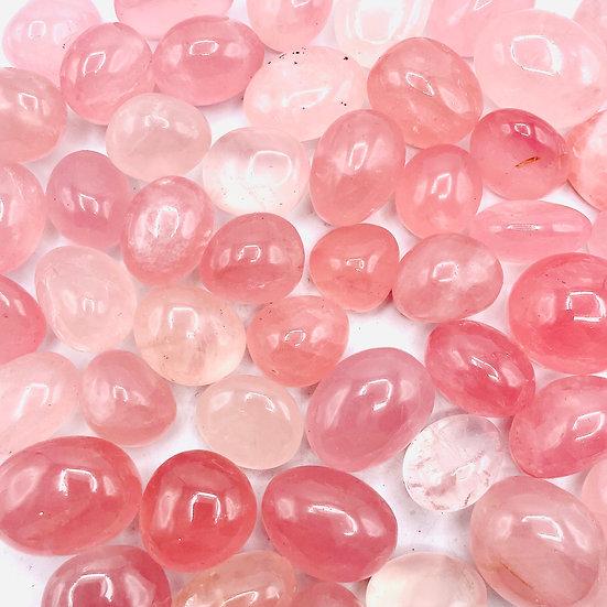 Quartz rose qualité AA | pierre roulée