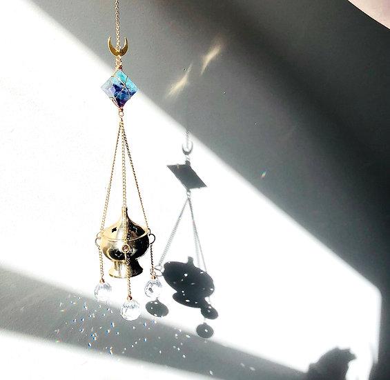 Fumoir d'encens ou de sauge | capteur de soleil