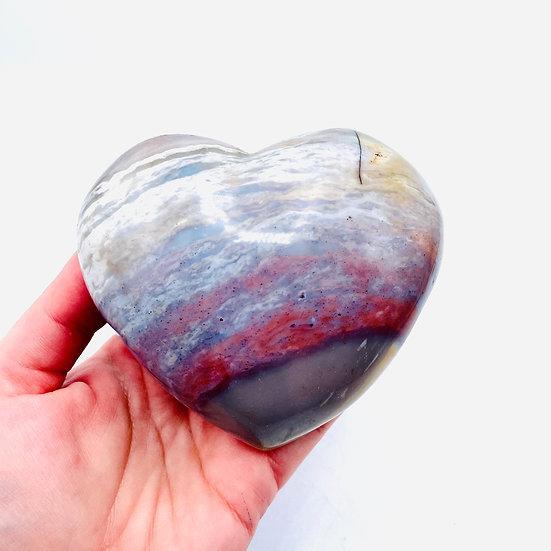 Jaspe océan | coeur