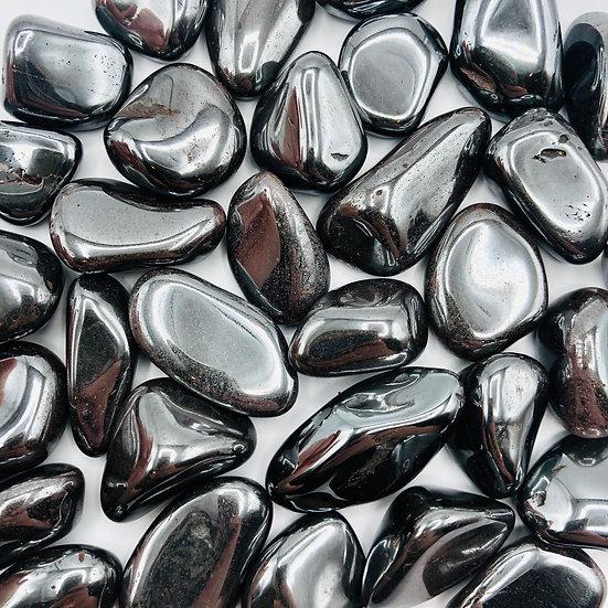 Hématite | pierre roulée