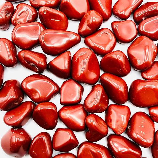 Jaspe rouge | pierre roulée