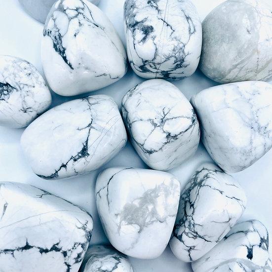 Howlite | pierre roulée | grosse