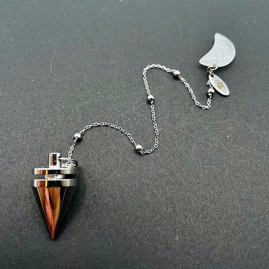Pendule | quartz clair & Lune