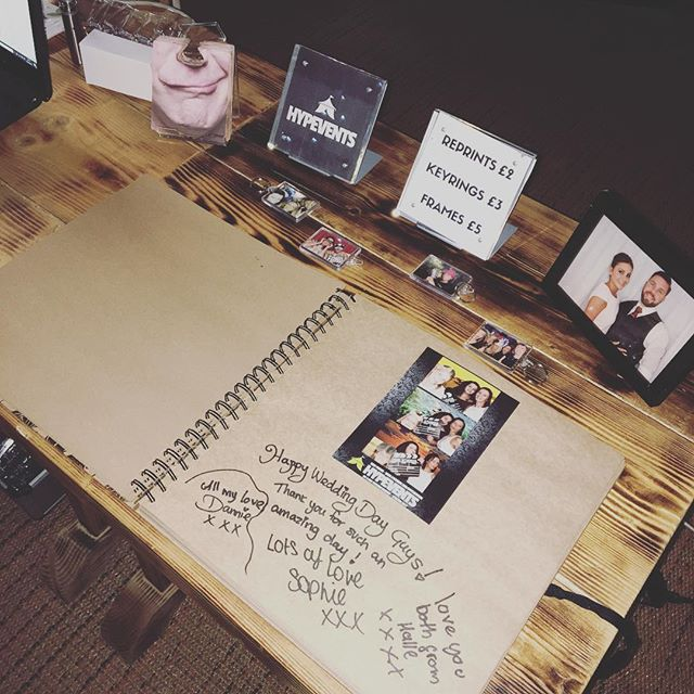 free guestbooks at wedding fayres