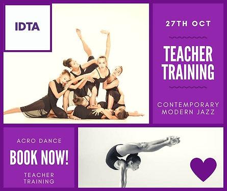 IDTA Teacher Training Day