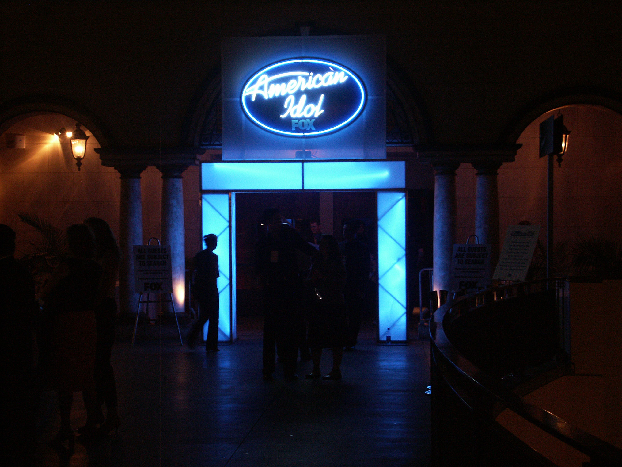 American Idol Lighting