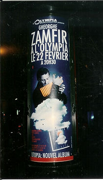 Olimpia concert poster