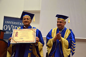 Doctor Honoris Causa at Ovidius University