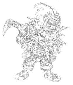 WOW Dwarf male Rogue
