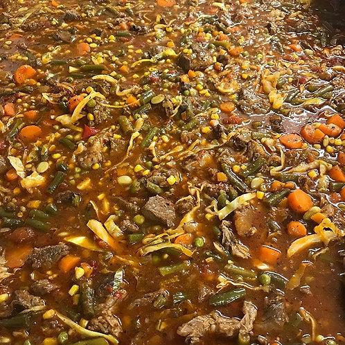 Vegetable Beef Soup - Quart